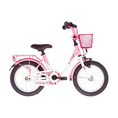 "Vélo Enfant VERMONT GIRLY 14"" Rose/Blanc 2019"
